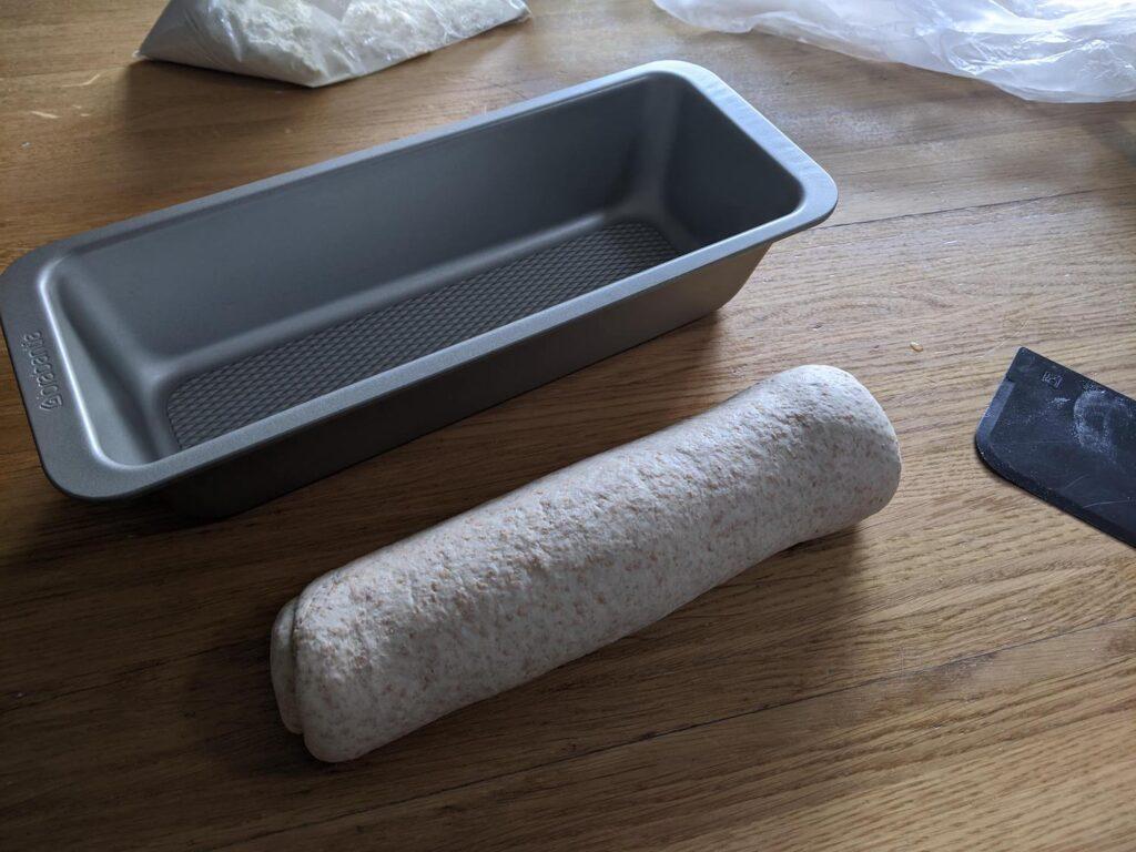 Brood opgemaakt met minimale bestuiving