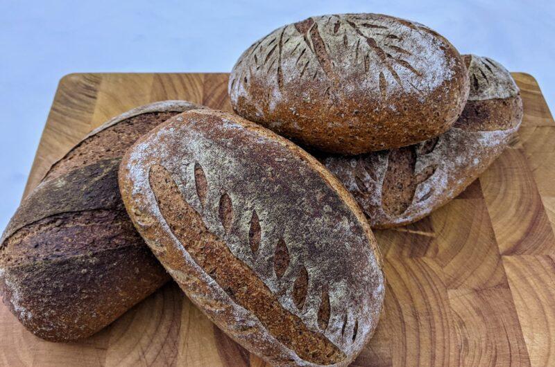Bruinbrood met Slaege Rode Wintertarwe