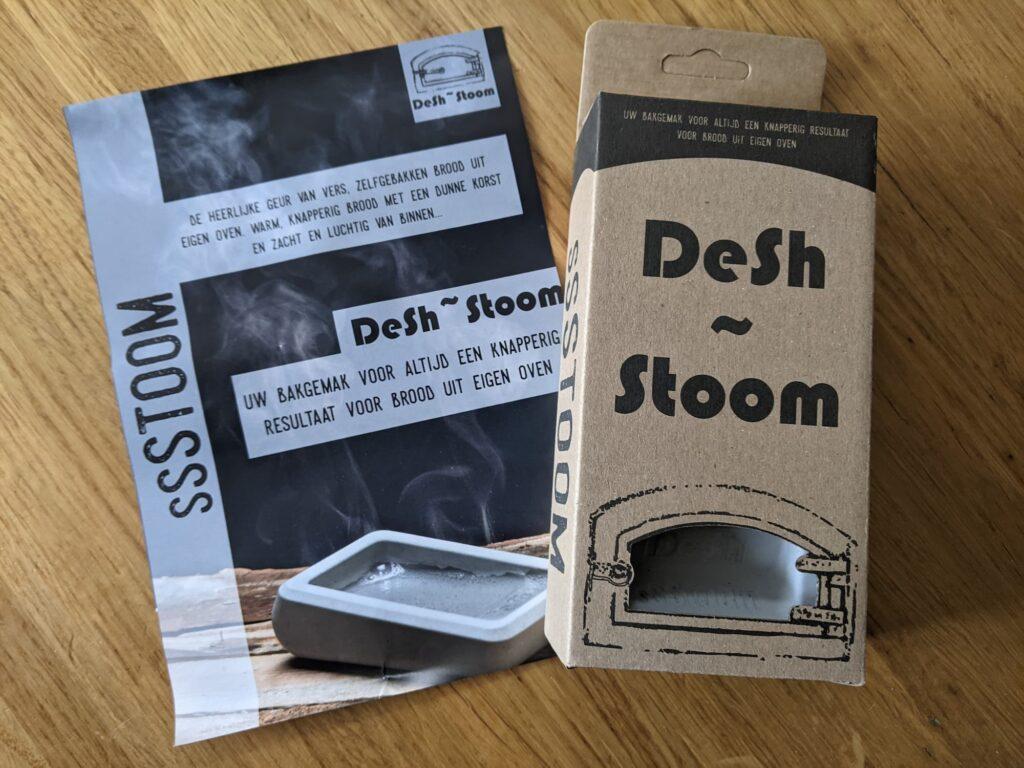 DeSh Stoom - De eerste indruk - Beeld van de verpakking - Voorkant
