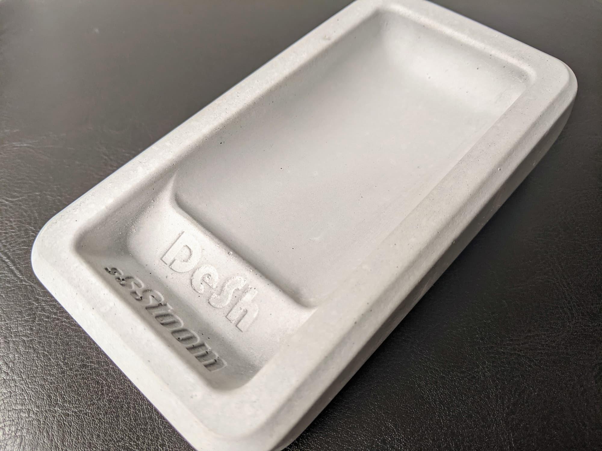 DeSh Stoom - De eerste indruk - Het bakje zelf